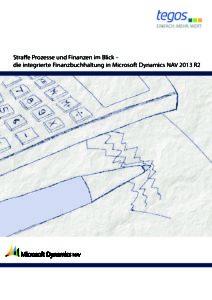 Download: Integrierte Finanzbuchhaltung in Dynamics