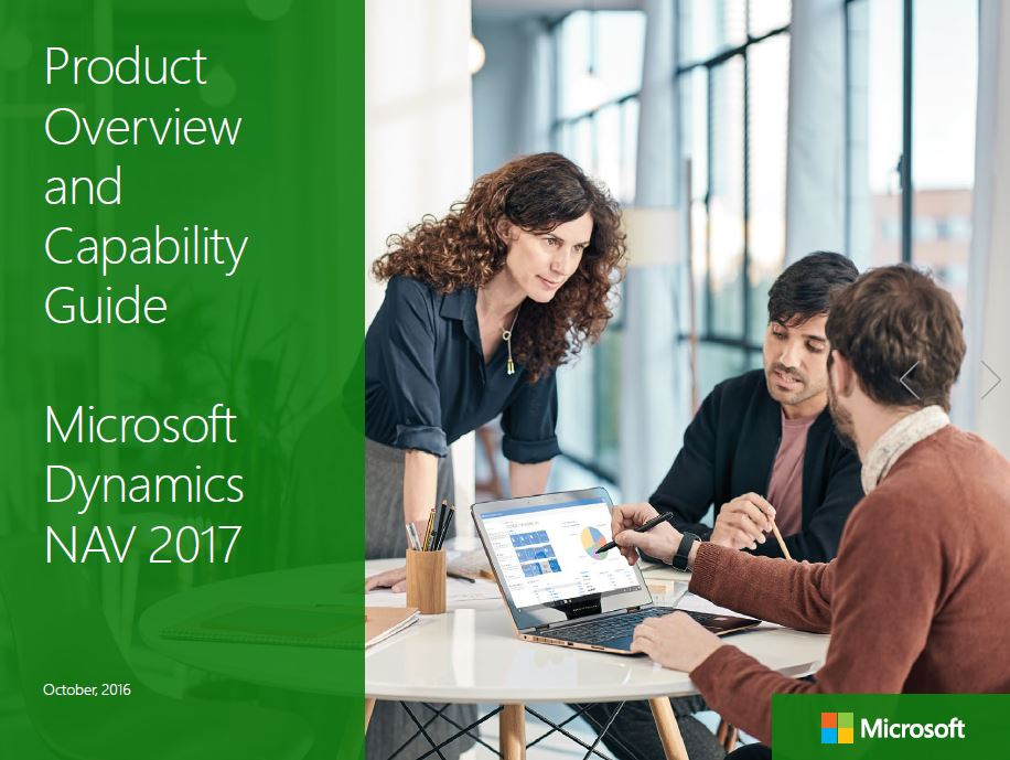 Download now: Dynamics NAV 2017 product and capability guide