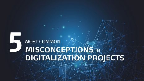 5 misconceptions in digitalization project