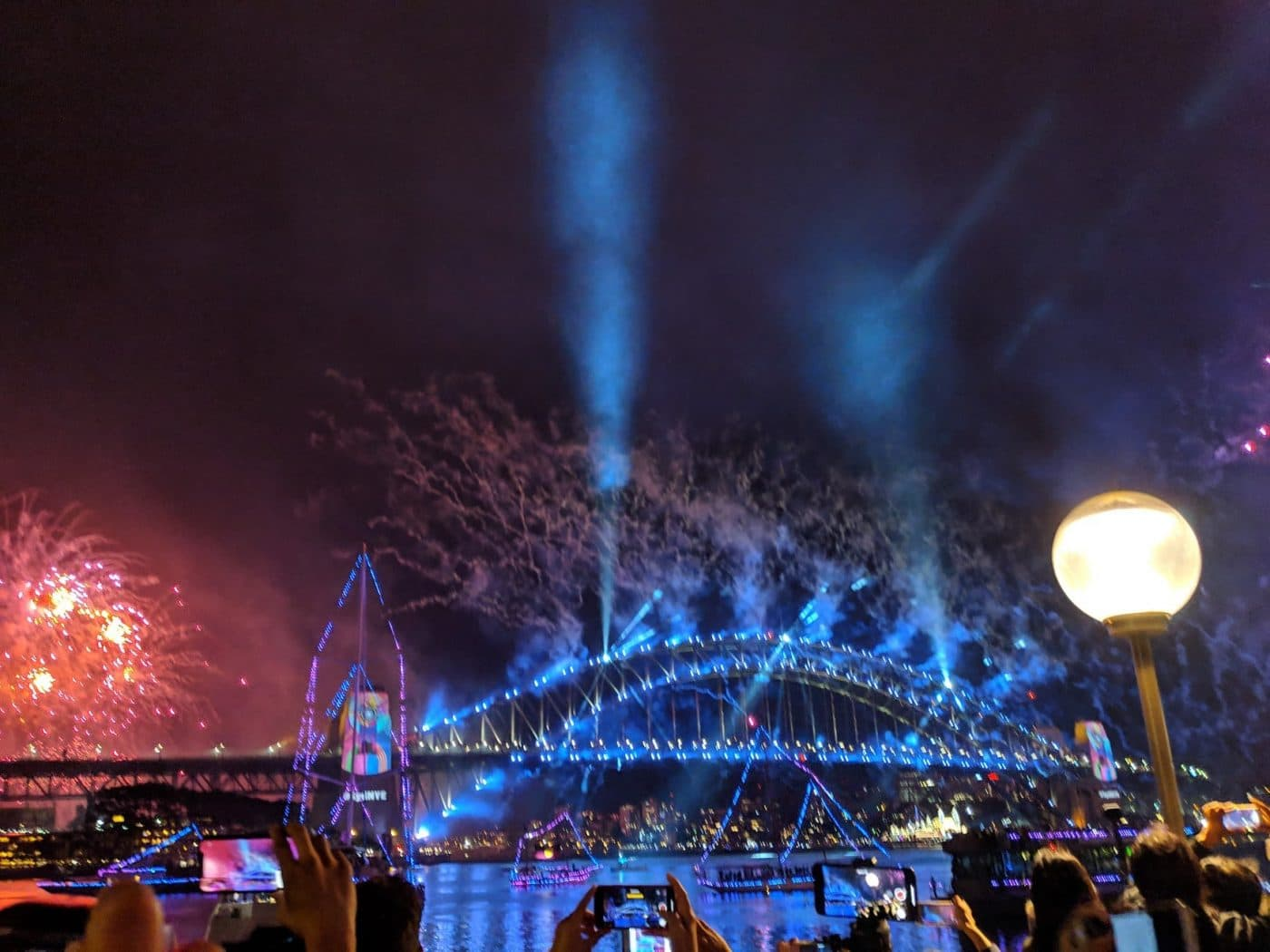 Sydney Fireworks New Years Eve
