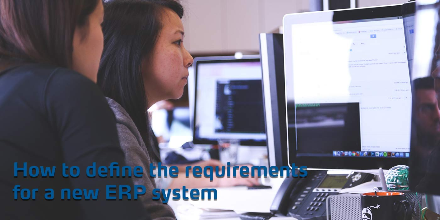 How to define the requirements for an erp system