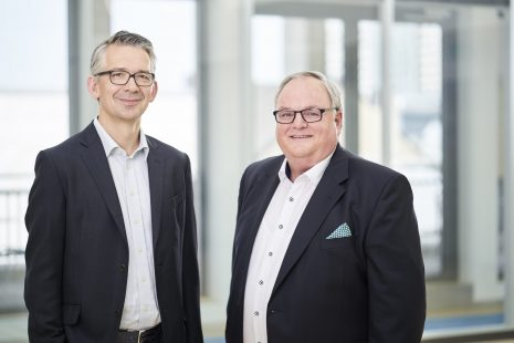CEOs tegos Group Andreas Kullmann and Ralf Linnemann