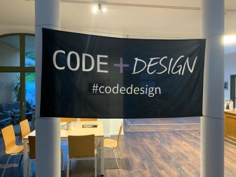 Titelbild Code+Design Camp