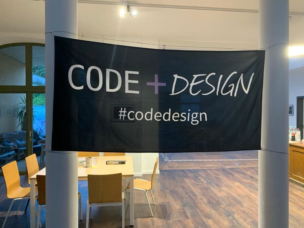 Titelbild Code+Design Camp