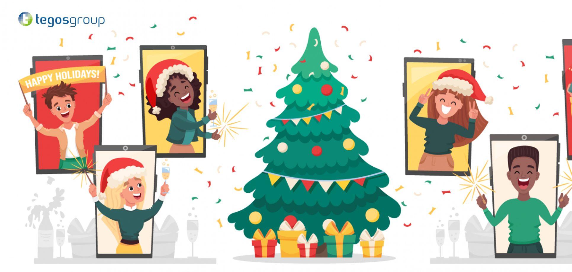 Virtuelle Weihnachtsfeier tegos 2020